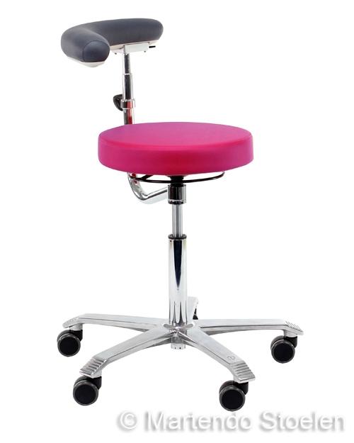 Score Werkstoel Medical 6260 met draaibare rug/armsteun