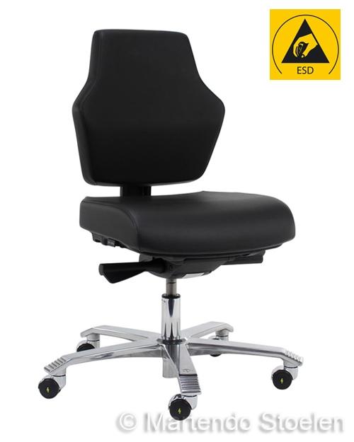 Score Werkstoel At Work ESD, standaard met schuifzitting