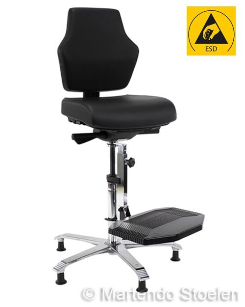 Score Werkstoel At Work ESD 08, standaard met schuifzitting