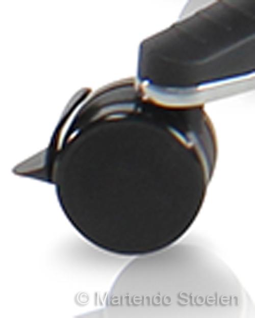 Score Zwenkwielen zacht 65mm met rem set