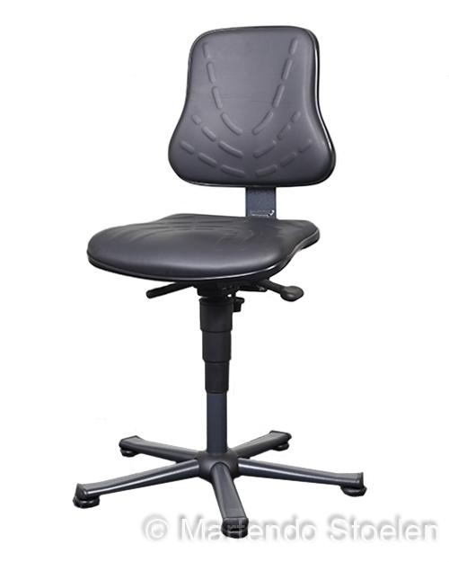 Werkplaatsstoel Bimos Solitec 1 met glijders