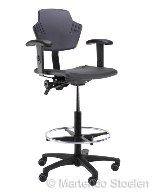 Werkstoel Score Spirit 1502 PU, hoge uitvoering