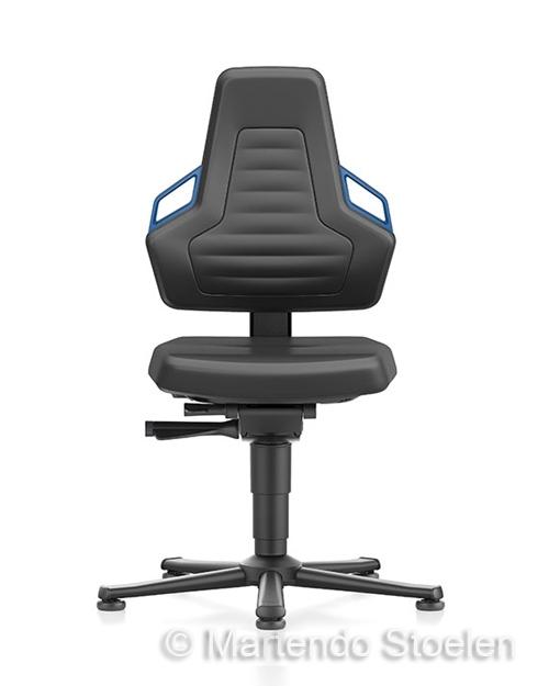 Werkplaatsstoel Bimos Nexxit 1 met glijders