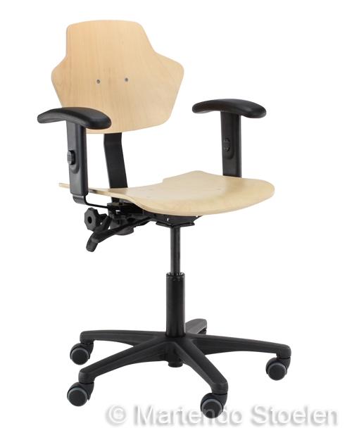 Werkstoel Score Spirit 1500 beuken, betaalbare kwaliteit