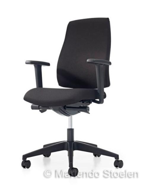 Bureaustoel Prosedia Seven Ergo Lucia Zwart