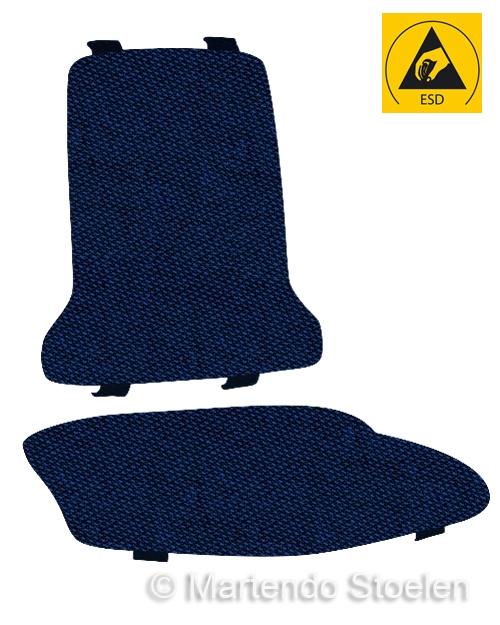Bimos Sintec Kussenset Textiel Duotec ESD blauw