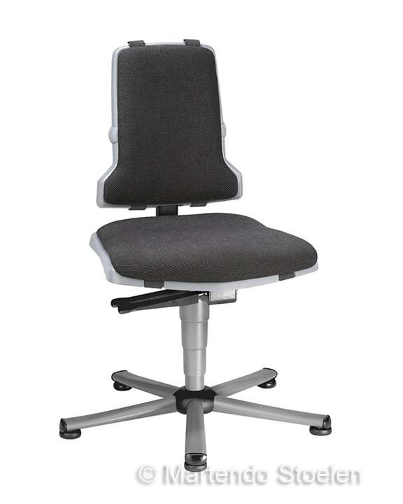 Werkplaatsstoel Bimos Sintec 1 synchroontech. gewichtsinstel