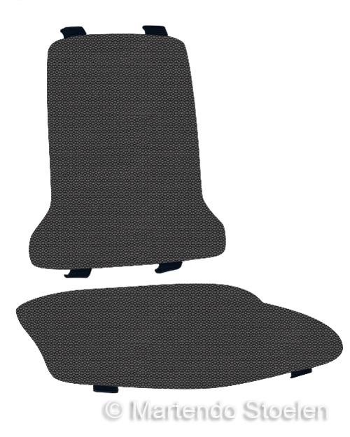 Bimos Sintec Kussenset Textiel Supertec zwart