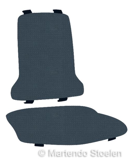 Bimos Sintec Kussenset Textiel Supertec blauw