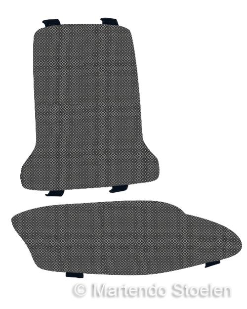 Bimos Sintec Kussenset Textiel Supertec grijs