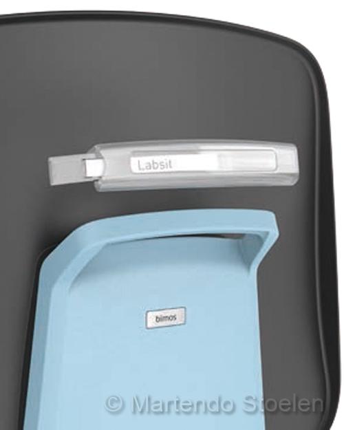 Bimos Cleanroomstoel ESD Labsit 4 met zit-stop-wielen