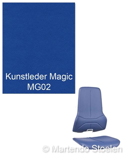 Bimos Neon Kussenset Kunstleder Magic Blauw