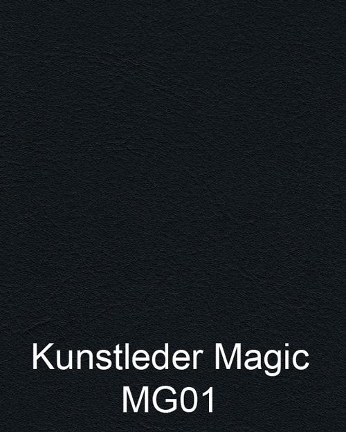 Bimos Neon Kussenset Kunstleder Magic Zwart