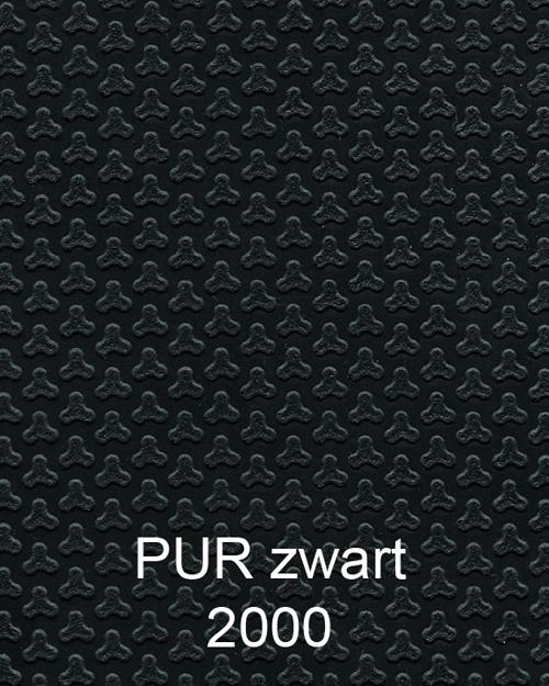 Bimos Neon Kussenset PUR ESD Zwart