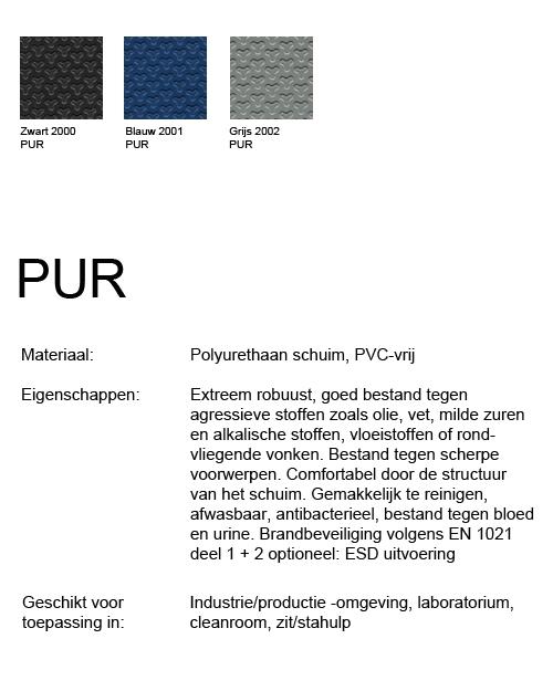 Bimos Neon Kussenset PUR Zwart