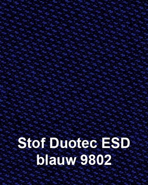 Bimos Neon Kussenset Stof Duotec ESD Blauw