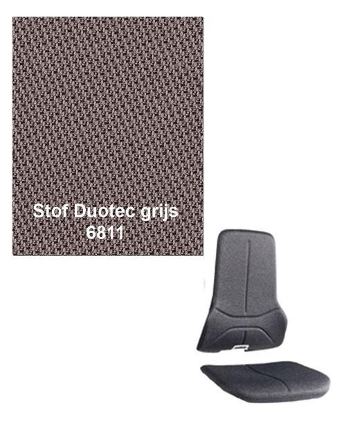 Bimos Neon Kussenset Stof Duotec ESD Grijs