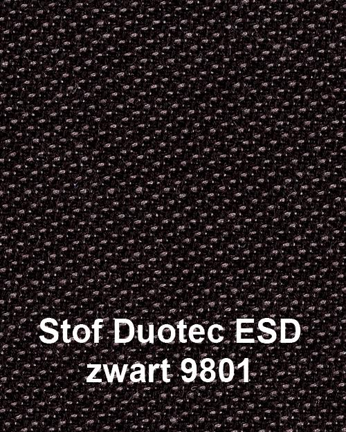 Bimos Neon Kussenset Stof Duotec ESD Zwart