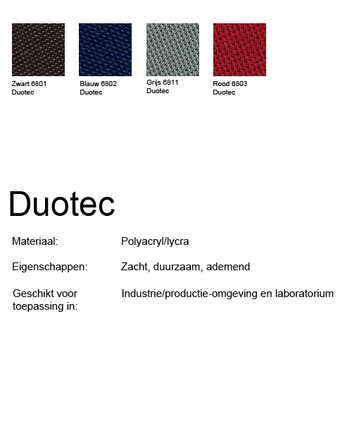 Bimos Neon Kussenset Stof Duotec Zwart