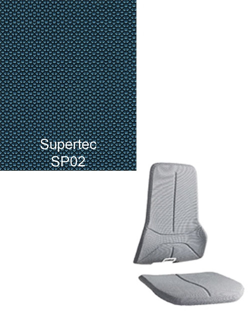 Bimos Neon Kussenset Supertec Blauw