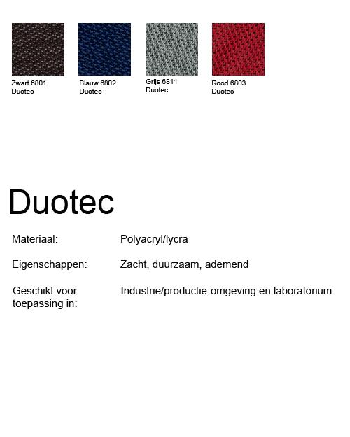 Bimos Sintec Kussenset Lendesteun Duotec zwart