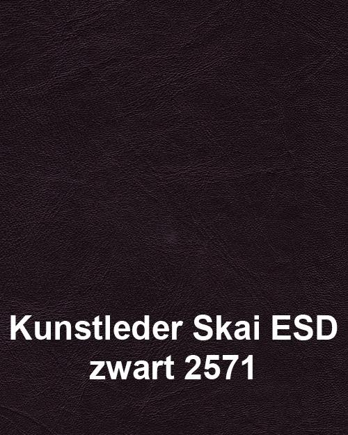 Bimos Sintec Kussenset Lendesteun Kunstleder ESD zwart