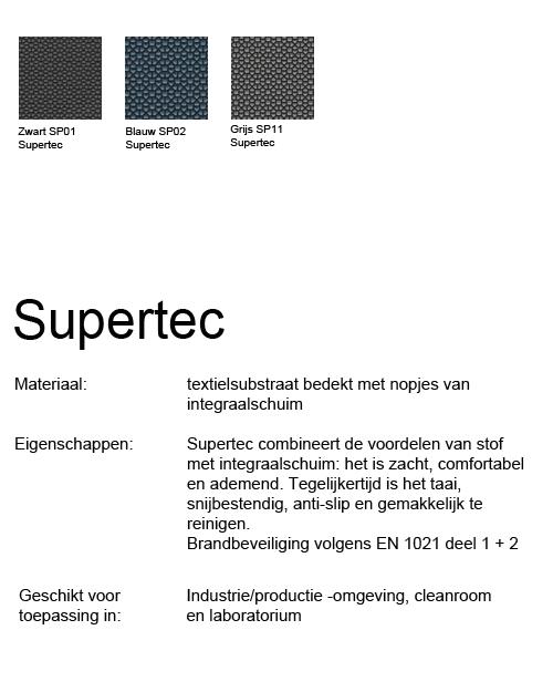 Bimos Sintec Kussenset Lendesteun Supertec zwart