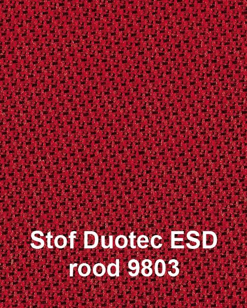 Bimos Sintec Kussenset Textiel Duotec ESD rood
