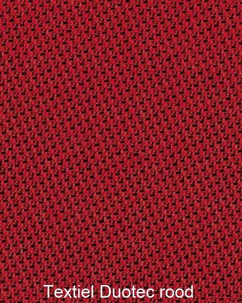 Bimos Sintec Kussenset Textiel Duotec rood