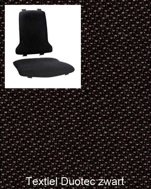 Bimos Sintec Kussenset Textiel Duotec zwart
