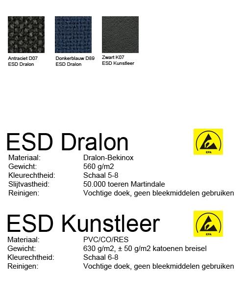 Score Werkstoel At Work ESD 02, standaard met schuifzitting