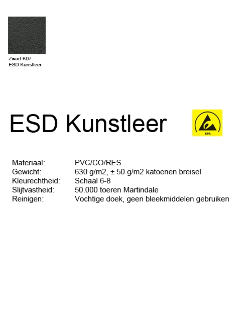 Score Werkstoel Medical 6311 ergo shape ESD