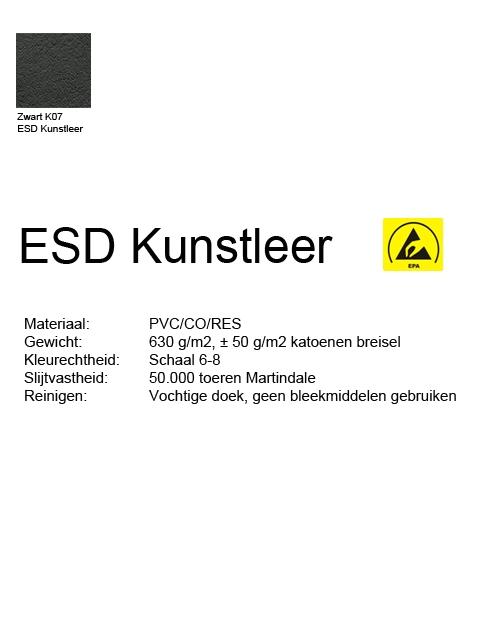 Score Werkstoel Medical 6321 ergo shape ESD