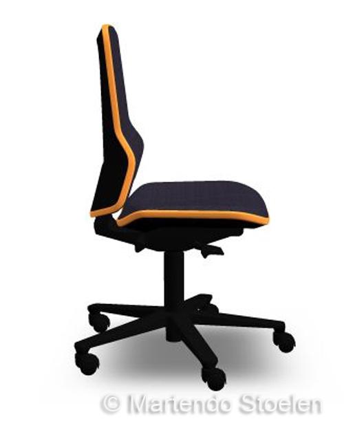 Werkplaatsstoel Bimos ESD Neon 2 met permanentcontact