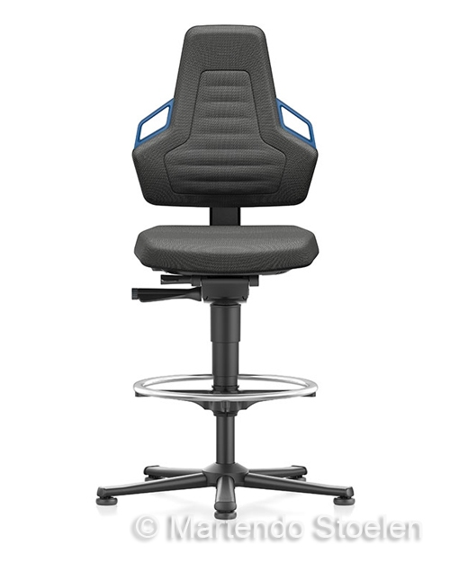 Werkplaatsstoel Bimos Nexxit 3 met glijders
