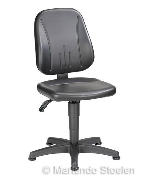 Werkplaatsstoel Bimos Unitec 1 met glijders