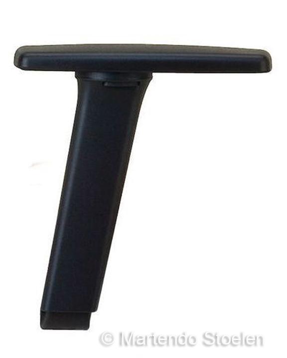 Werkplaatstoel Bimos Unitec 3 met glijders en voetenring