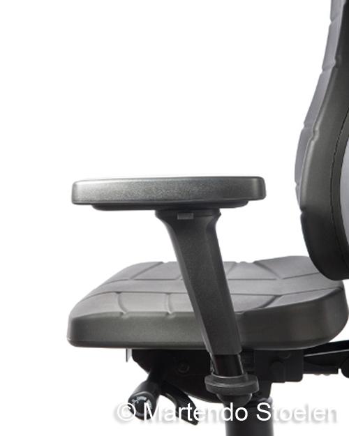 Werkstoel Bimos All-In-One Trend 3 met glijders