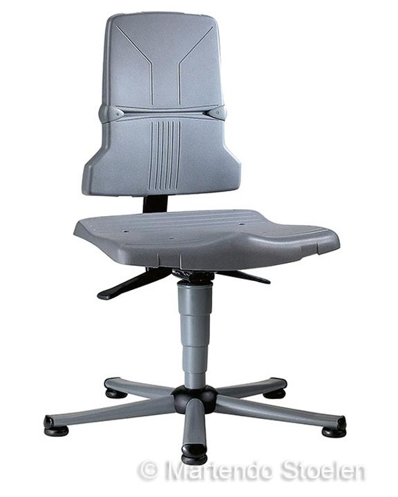 Werkstoel Bimos Sintec 1 permanentcontact+zitneig+glijders