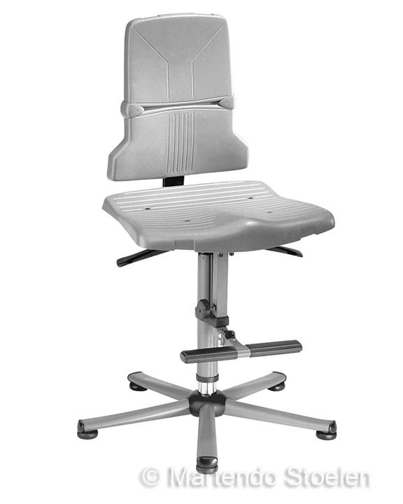 Werkstoel Bimos Sintec 3 permanentcontact met opstaphulp