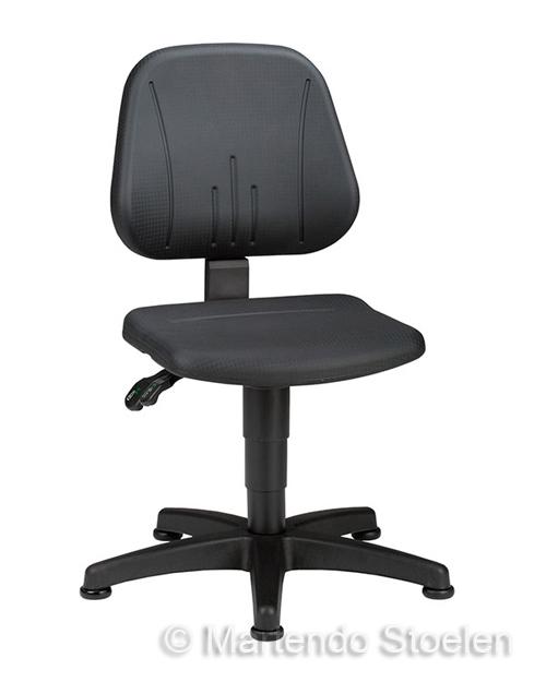 Werkstoel Bimos Unitec 1 met glijders Beuken