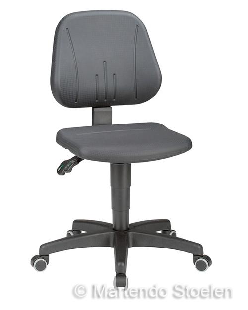 Werkstoel Bimos Unitec 2 met wielen Beuken