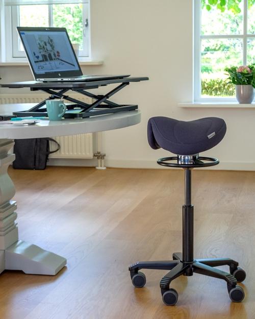 Zadelzitting Score Amazone Office Balance met Lendesteun