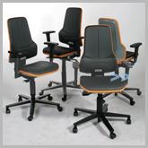 werkstoelen aanbieding