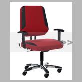 XXL bureaustoelen tot 250 kg.